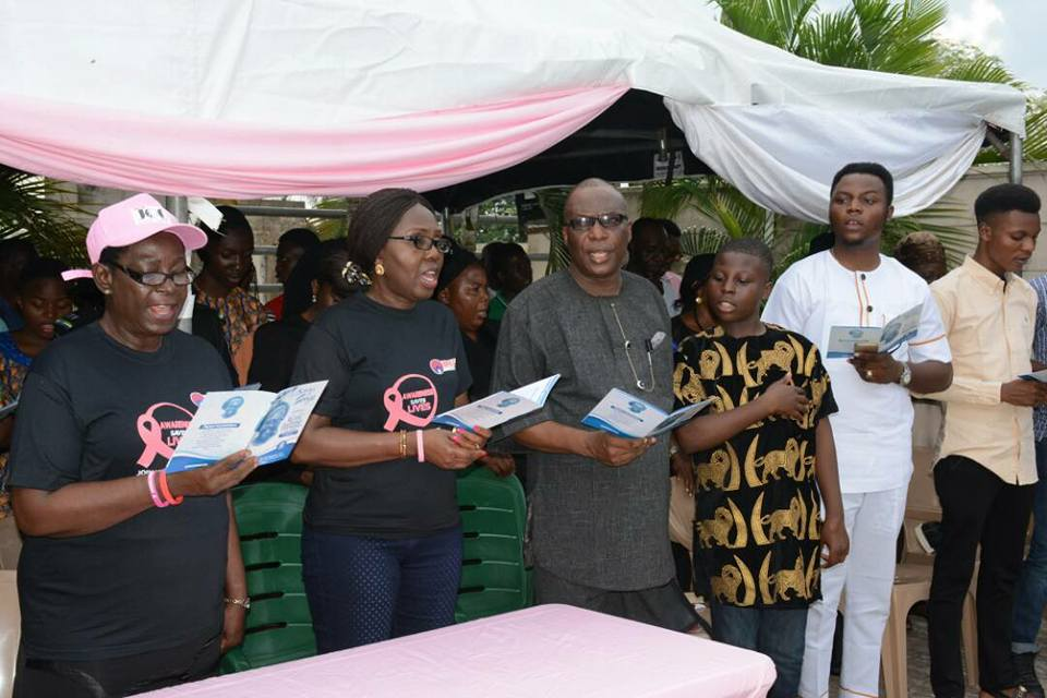 Mrs Akeredolu vows not to give up on breast cancer awareness in Nigeria