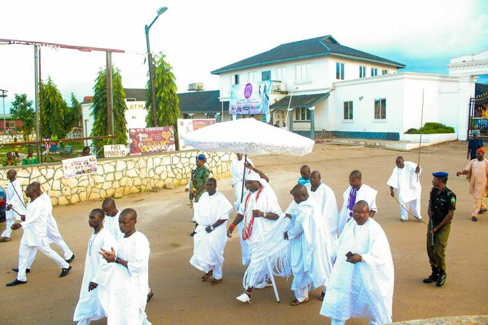 Olojo festival 2017: Ooni unveils media sponsors as he begins 7 days in seclusion