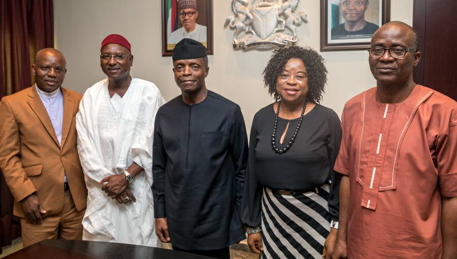 Homegrown School Feeding Meant To Address Nutrition Challenge In The Country – VP Osinbajo