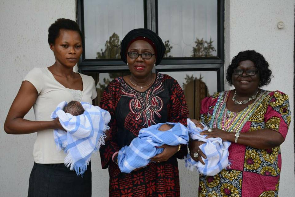 Widowed Mother of Triplets Gets Cash Gift and Donation from Arabinrin Betty Akeredolu