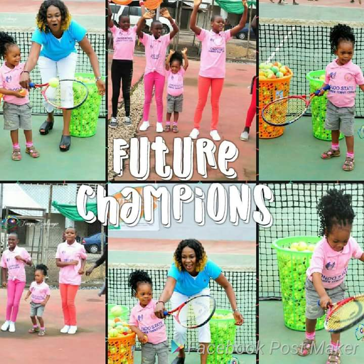 Ondo State Summer Tennis Clinic : First Lady to Celebrate Young Stars