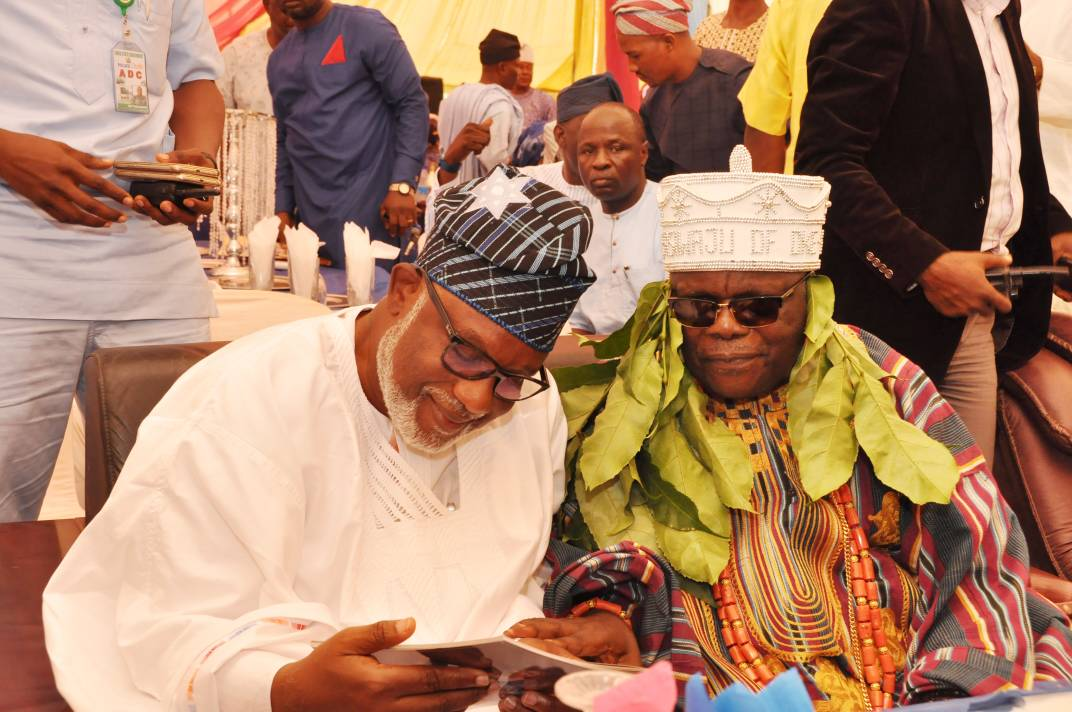 Gov. Akeredolu reiterates commitment to opening up rural areas