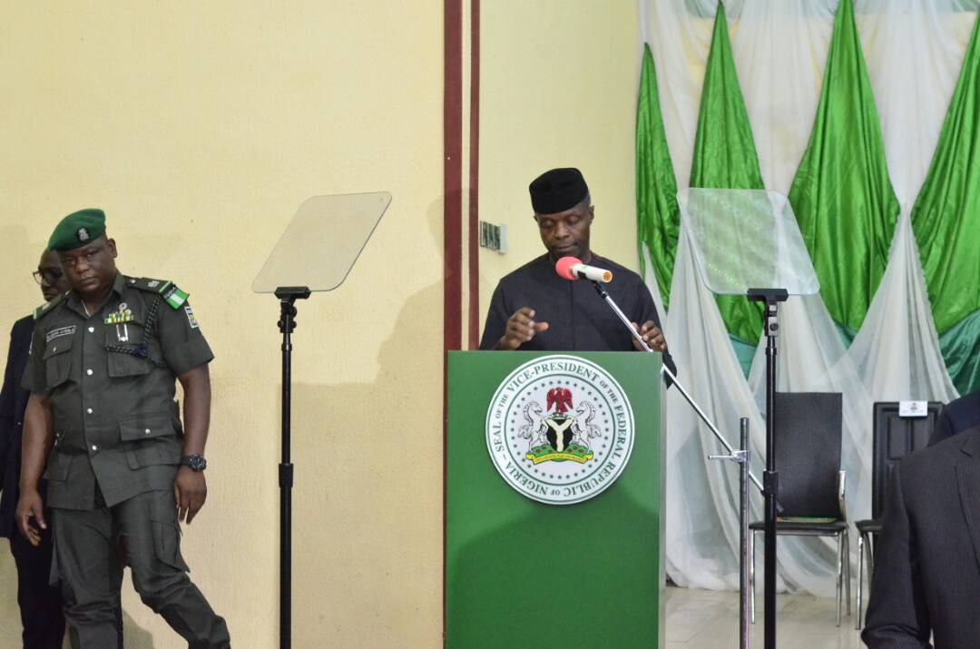 Photos: Faces at Niger Delta Communities' Stakeholders Town Hall Meeting with the Vice President Yemi Osinbajo