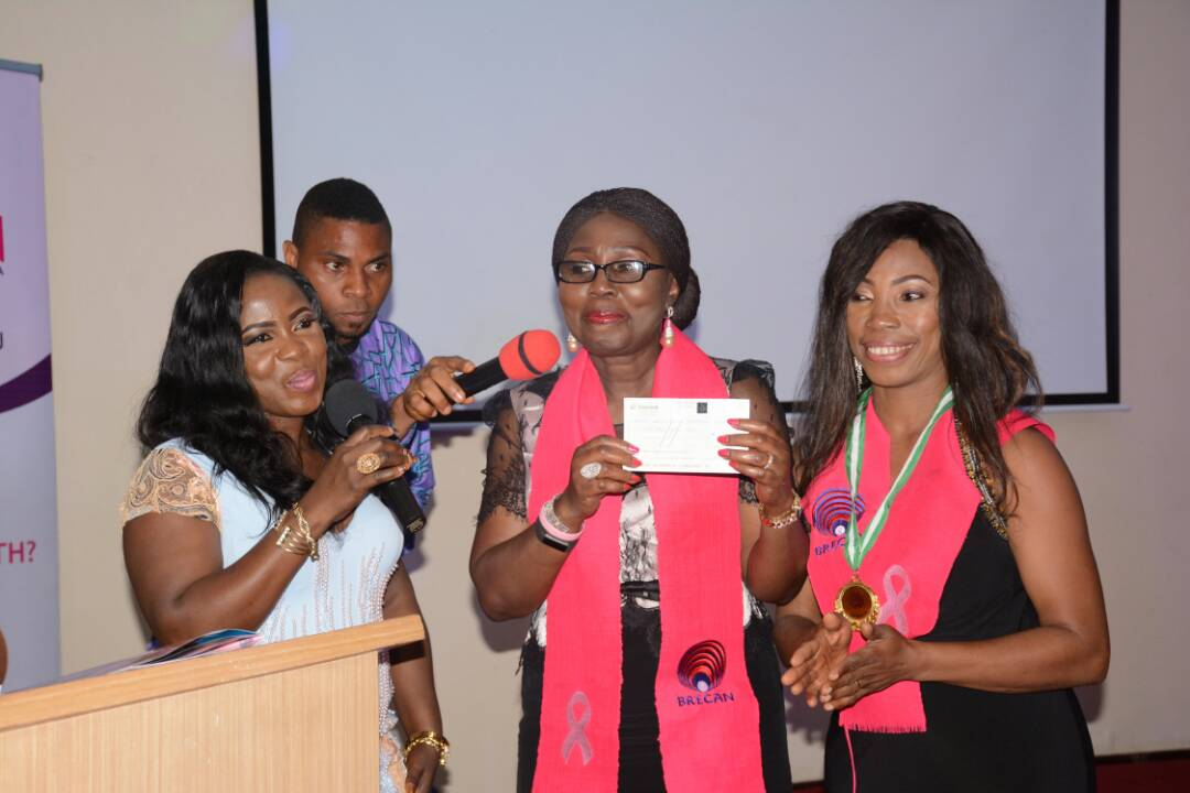 Photos: Breast Cancer: Betty Akeredolu Launches BRECAN in Lagos, seeks collective fight against the killer disease
