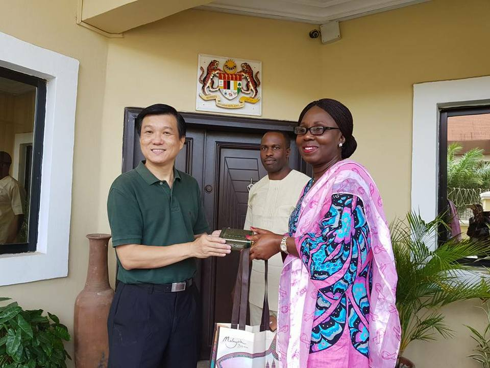 Photos: Ondo First Lady Visits Malaysian High Commissioner to Nigeria, Mr Lim Juay Jin