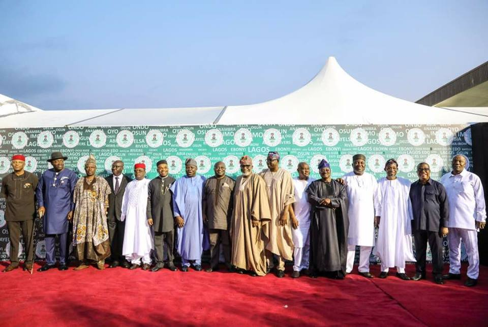 Southern Governors Unite on True Federalism, Devolution of Powers …To Collaborate On Security,Infrastructure, Economy …Appoint Ambode Chairman, Dickson, Umahi As Co-Chairmen