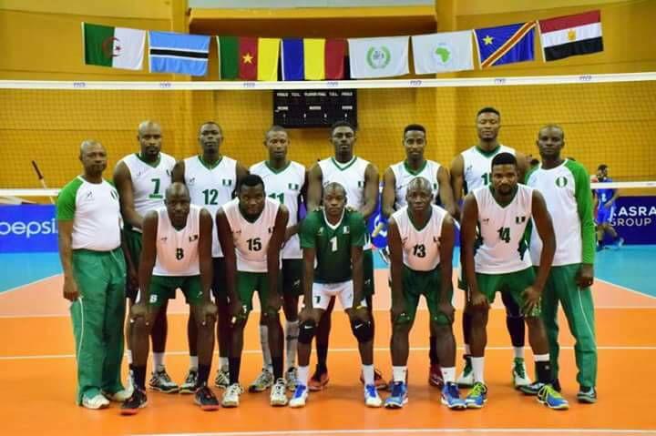Nigeria national male Volleyball team crashes out of 2017 Men Volleyball Africa Nations Tournament
