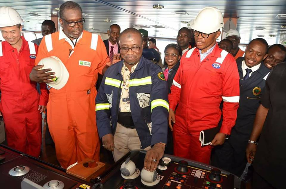NNPC, First E&P, BGP Flag-Off Marine Oil Search …As NNPC Declares Commitment to Growing Nigeria's Reserves, Revenue Generation