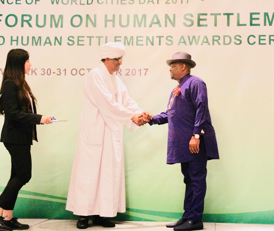 SCAHSA honours Governor Wike with Global Human Settlements Outstanding Contribution Award