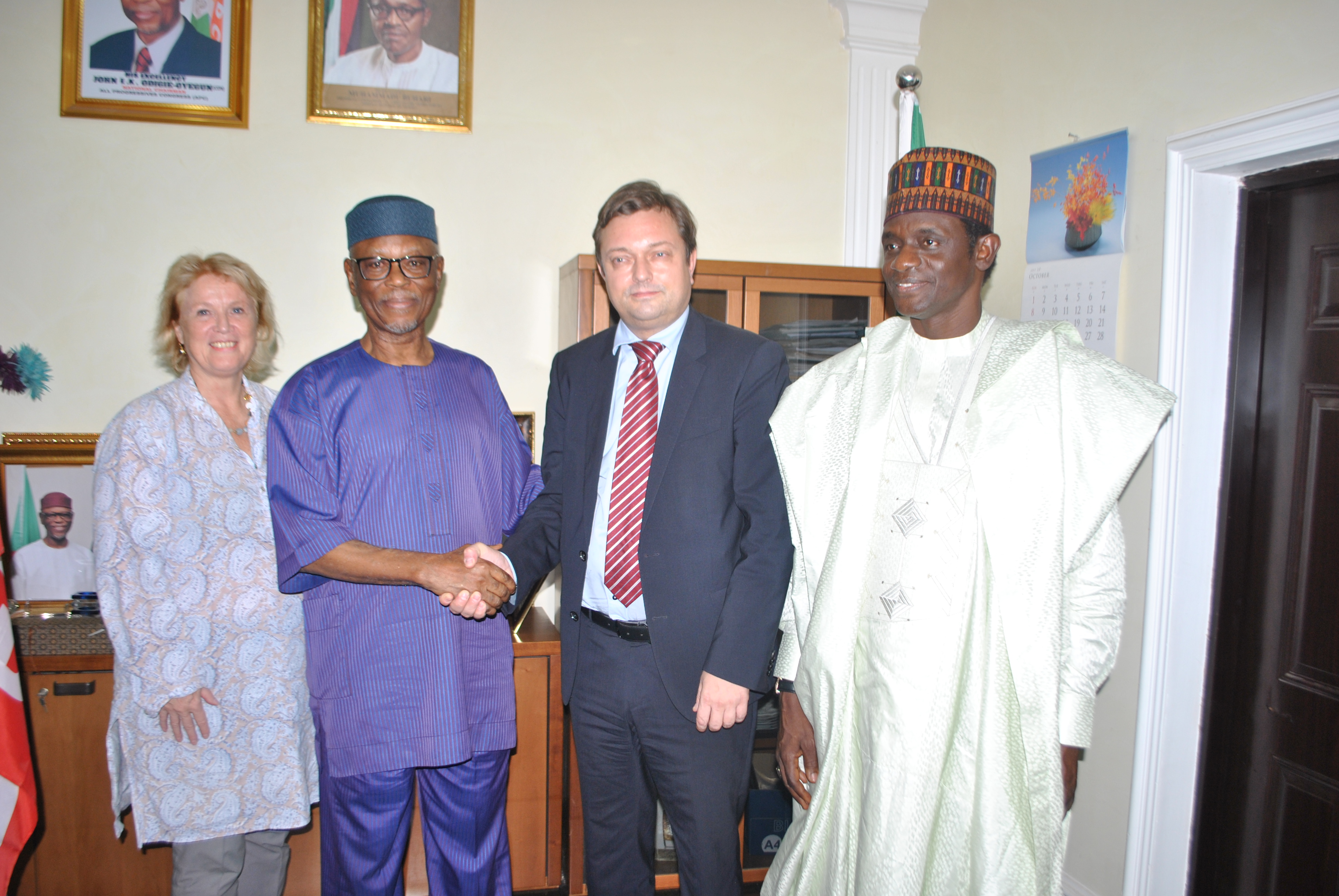 EU Ambassador to Nigeria Visits APC National Chairman