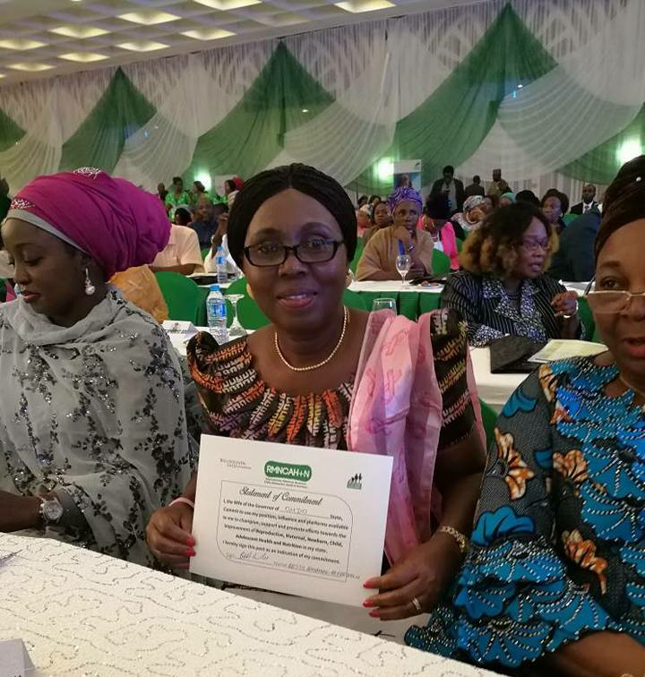 Photos: Mrs Betty Anyanwu Akeredolu and others at the Stakeholders Meeting on RMNCAH+N