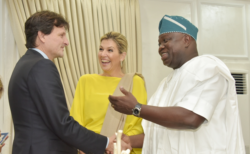 QUEEN OF NETHERLANDS VISITS AMBODE, LAUDS LASG'S HEALTH POLICY