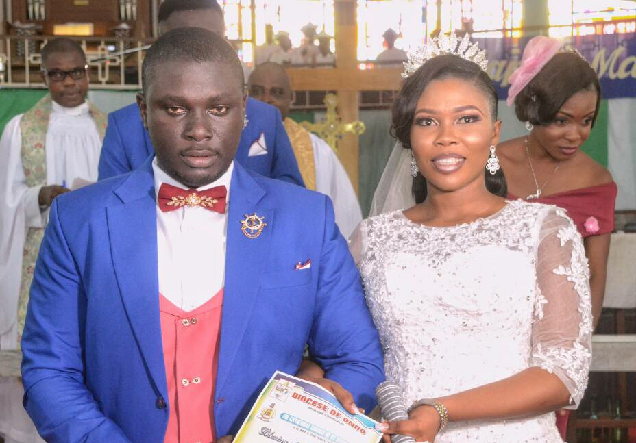 Ondo State Chief of Staff's Son Weds Lover in grand style