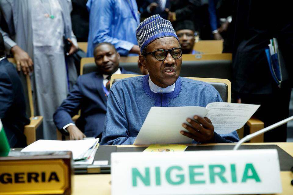 CORRUPTION IS ONE OF THE GREATEST EVILS OF OUR TIME, PRESIDENT BUHARI TELLS AFRICAN LEADERS