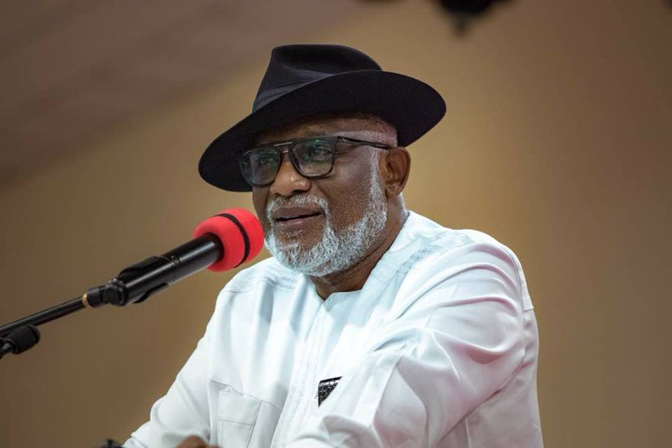 Re- Akeredolu Advocates Scrapping Of Senate: Call For Part-time, Unicameral Parliament Not Same As Scrapping Senate