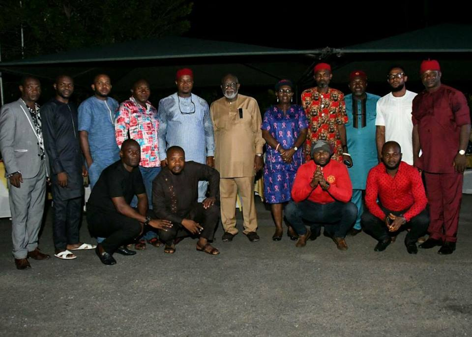 Photos: Governor Akeredolu receives team of Igbo politicians from Imo State