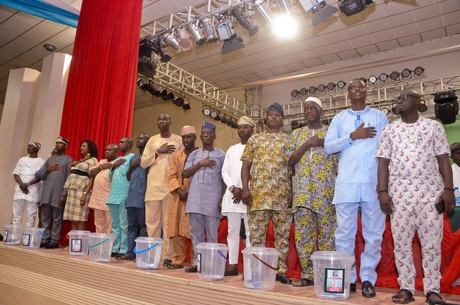 List Of New Members Of State Executive Of APC Ondo State