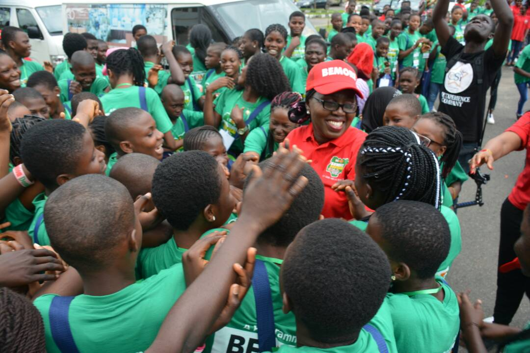 Mrs Akeredolu makes case for female education as she flags off bootcamp for girls