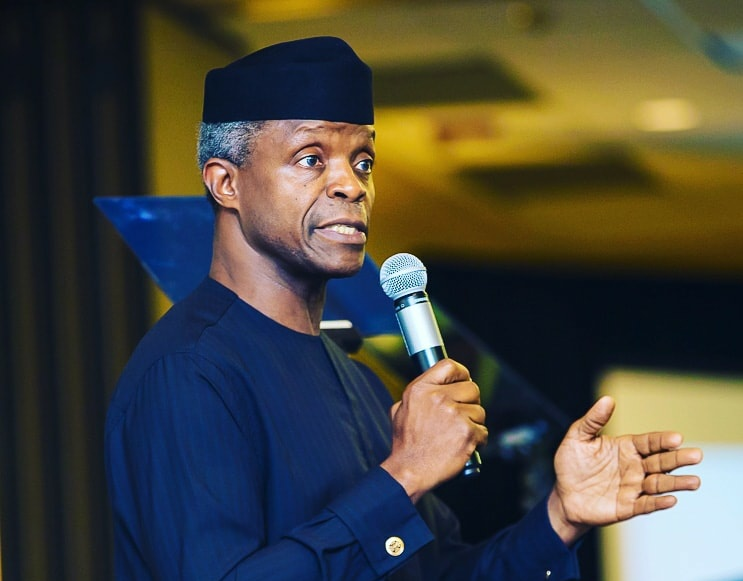 WHY FG, IN COLLABORATION WITH PRIVATE SECTOR, SUPPORTS INNOVATIVE, TECHNOLOGY-DRIVEN IDEAS FROM VARSITIES – VP OSINBAJO