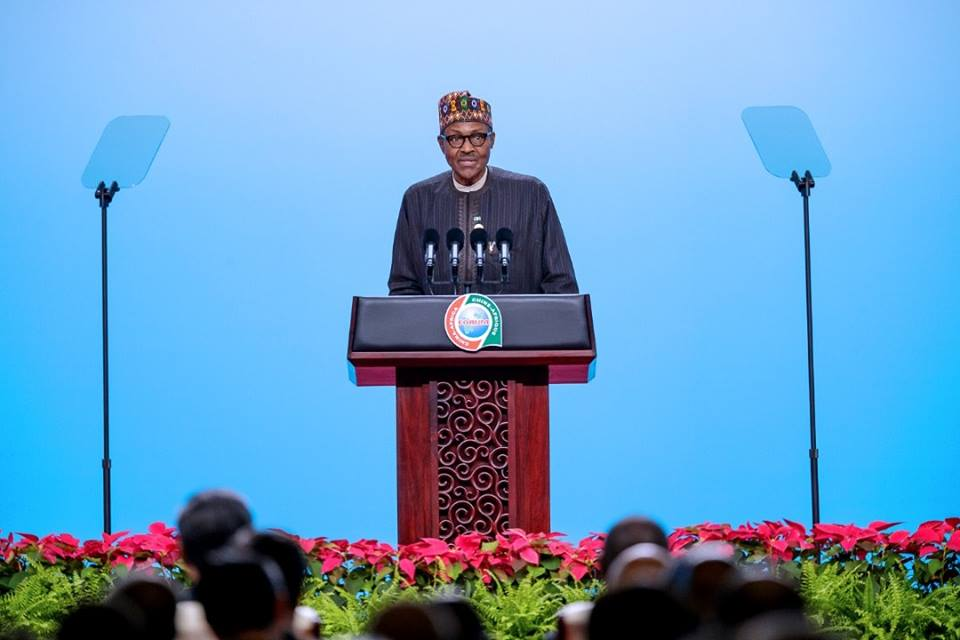 REMARKS BY HIS EXCELLENCY, MUHAMMADU BUHARI, PRESIDENT OF THE FEDERAL REPUBLIC OF NIGERIA AND CHAIRMAN OF ECOWAS AT THE OPENING CEREMONY OF THE HIGH-LEVEL DIALOGUE BETWEEN CHINESE AND AFRICAN LEADERS AND BUSINESS REPRESENTATIVES  3RD SEPTEMBER, 2018