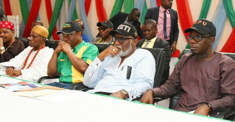 Image result for Ondo holds stakeholders meeting on budgeting