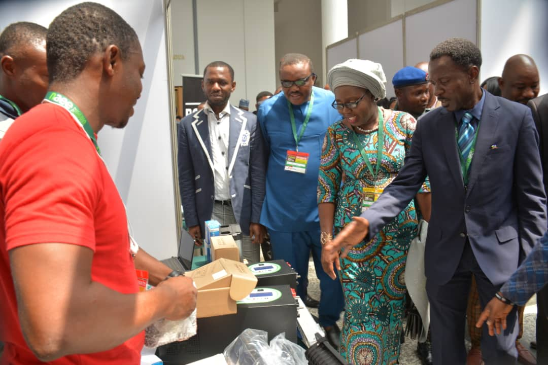 Exhibition Stand Nigeria : Photo news ondo first lady inspecting exhibition stands