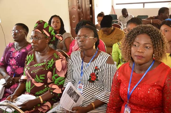 Faces at Mock presentation by former LGA Chairpersons in preparation for 1st FOWOSO Summit