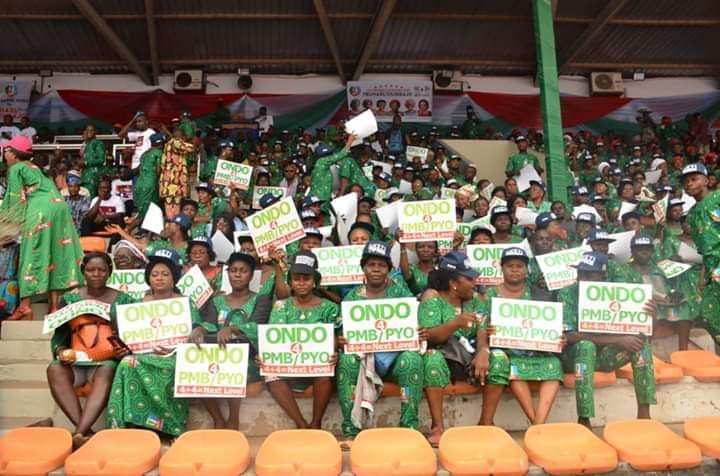 BEMORE Girl, Efunyade Oyinkansola writes: My unforgettable experiences at the political rally by APC south west governor's wives held at Liberty Stadium Ibadan on January 19th, 2019