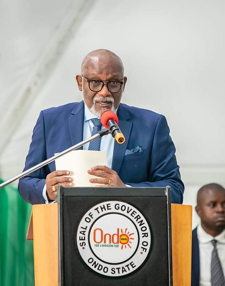 Akeredolu inaugurates new judges