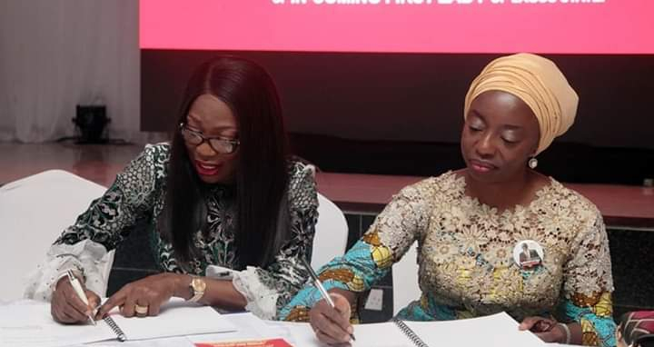 PHOTOS: BOLANLE AMBODE HANDS OVER TO WIFE OF GOVERNOR-ELECT