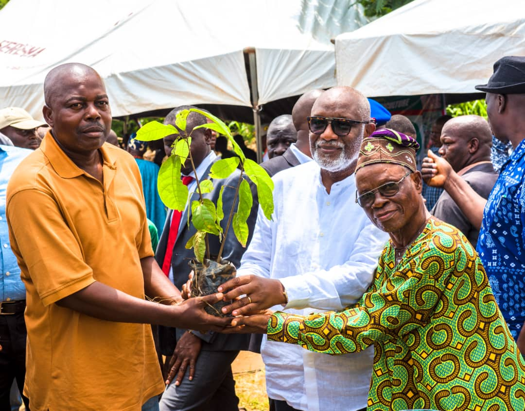 Our Policies Targeted At Increased Agricultural Products, Says Akeredolu