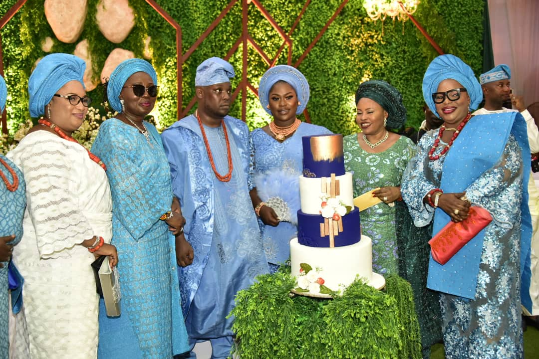 Mrs Akeredolu, Ajayi, Agagu, Bajowa, others attend Oladuni Odu's son's wedding