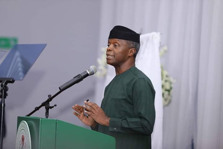 HOW AUTOMATED TAX PAYER ID NUMBERS CAN RAISE REVENUES, HELP BUSINESS' BOTTOM-LINES & REDUCE BUREAUCRATIC CORRUPTION – VP OSINBAJO