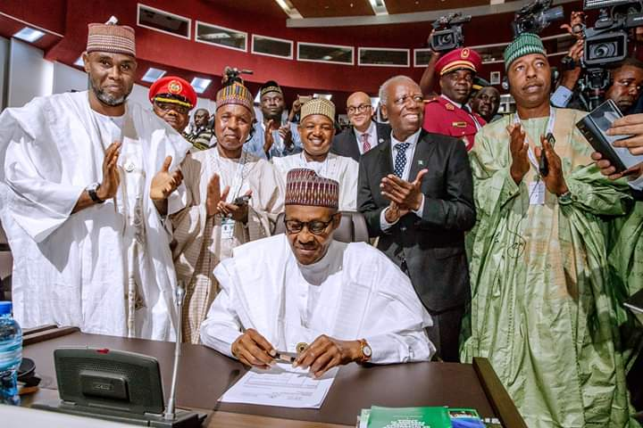 FREE TRADE MUST ALSO BE FAIR TRADE, SAYS PRESIDENT BUHARI AS NIGERIA SIGNS AFRICAN FREE TRADE AGREEMENT