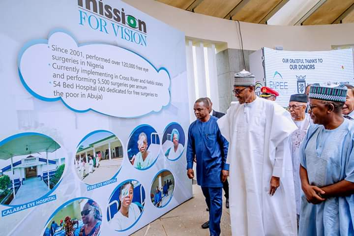 Buhari canvasses more commitment to the poor, commends Chanrai family
