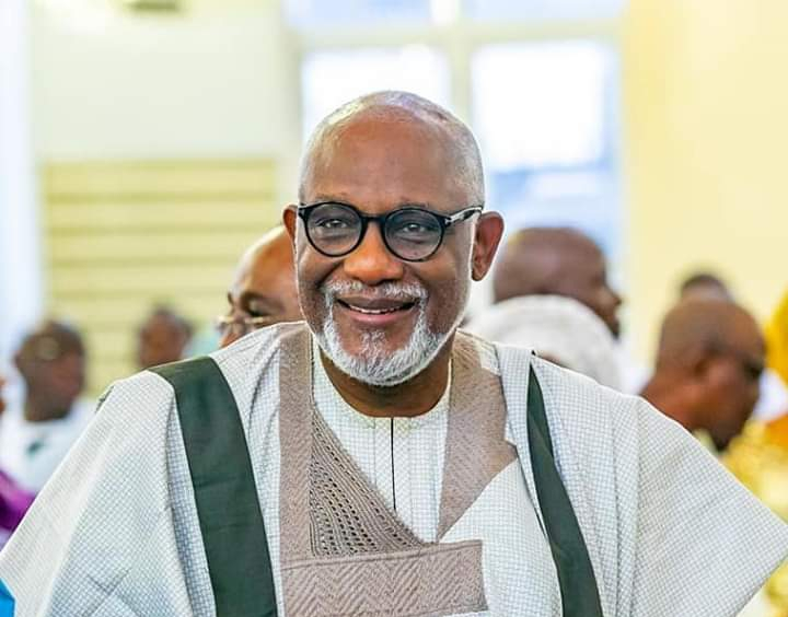 Akeredolu bags ICT infrastructural Governor of the year
