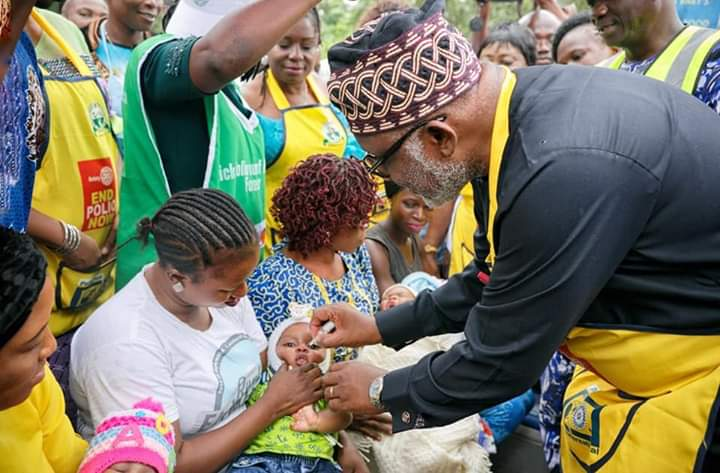 We're committed to saving the lives of our children, says Akeredolu