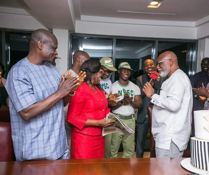 NYSC Commends Akeredolu's Interventions