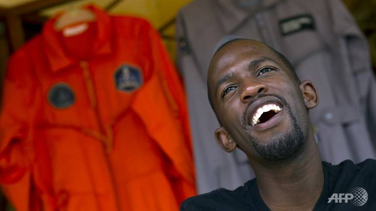 Man dies before realising dream of being first black African in space