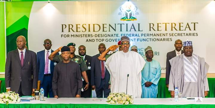 Full Text of President Buhari's Speech at Retreat for Ministers-Designate in Abuja
