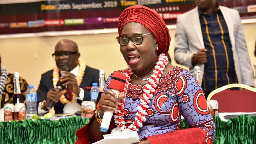 Address by Her Excellency, Betty Anyanwu-Akeredolu at the Award Ceremony and Programme Organized by Imo Newspaper Publishers Association
