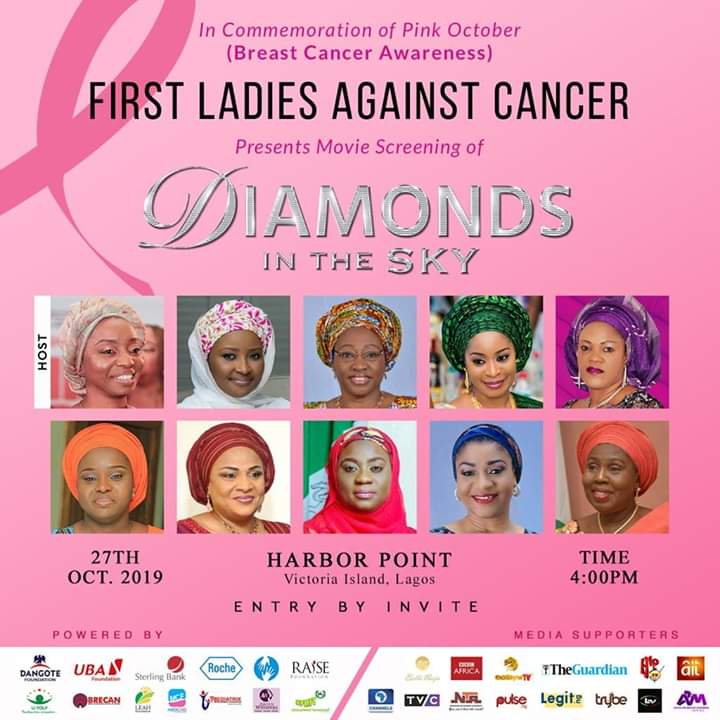 First Ladies Against Cancer (FLAC) Marks Pink October