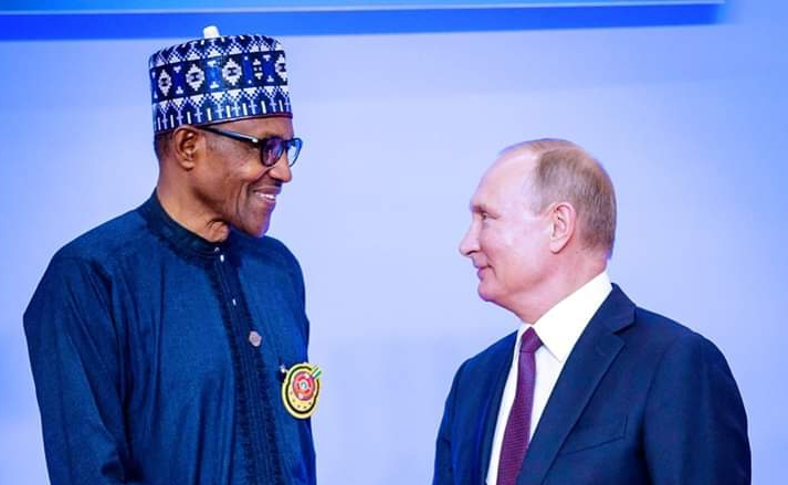The Takeaways from President Buhari's visit to Russia By Garba Shehu