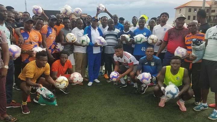 Kenneth Omeruo gives back to Sunshine Stars