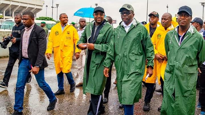 SANWO-OLU, SPORTS MINISTER INSPECT STADIUM AHEAD OF U-20 WOMEN WORLD CUP