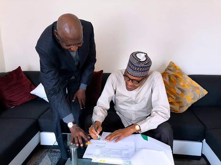 Buhari Signs Amended Deep Offshore Act