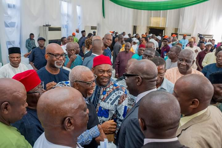Edo 2020: APC leaders across 18 LGAs adopt Obaseki as party's flagbearer