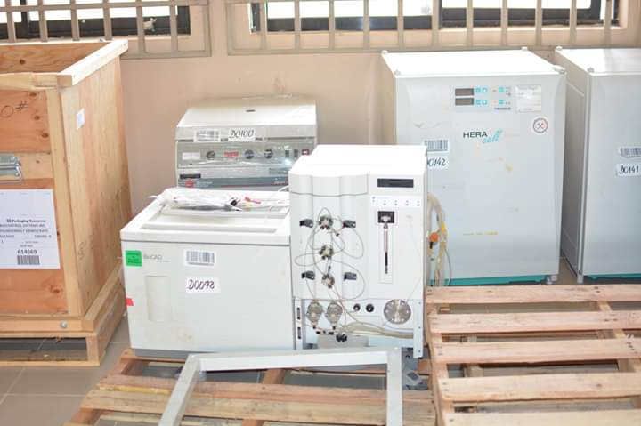 UNIMED receives over 120 million naira worth equipment