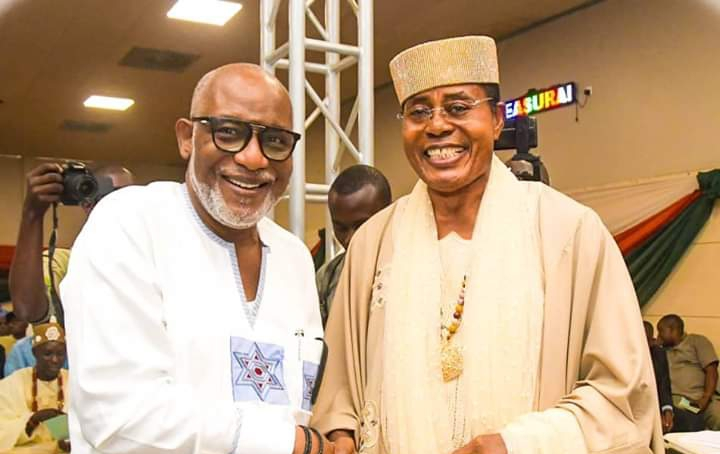 Road Construction; We Have Just Started – Akeredolu