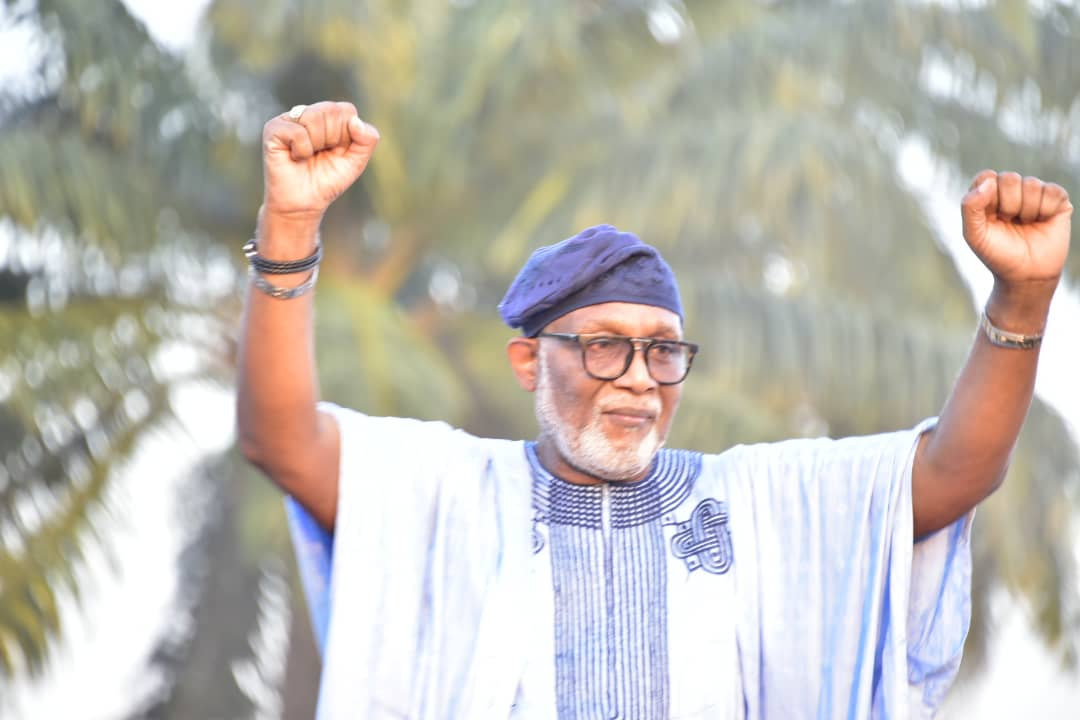 'As you can see, I'm back fresher and stronger', says Gov Akeredolu